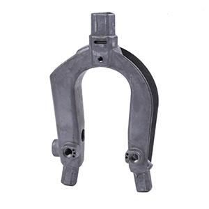 铝合金压铸铁路轨道导电叉